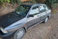 خرید خودرو پراید صندوق دار ساده دوگانه سوز - 1386