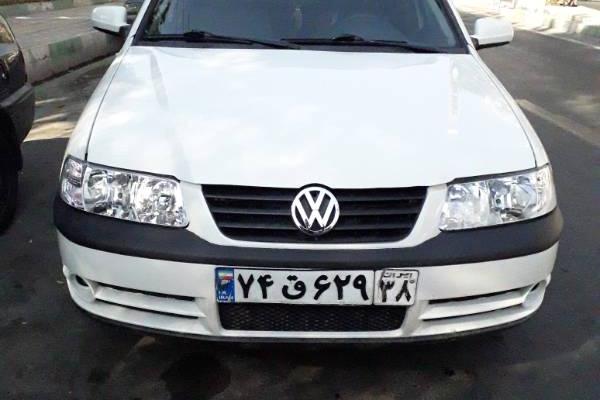 خرید خودرو فولکس واگن گل - 1387