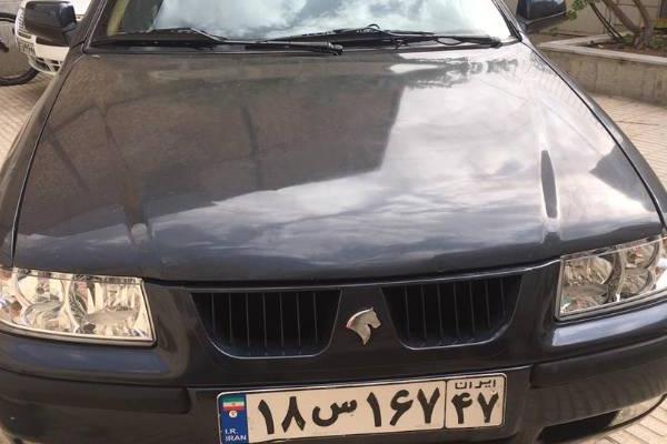 خرید خودرو سمند LX EF7 بنزینی - 1391