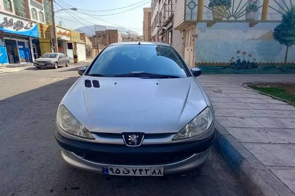 خرید خودرو پژو 206 تیپ 6 - 1387