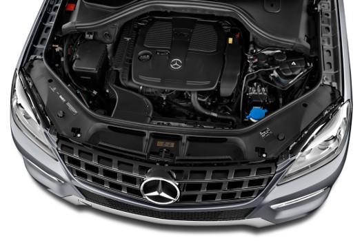 مشخصات فنی بنز ML - W166