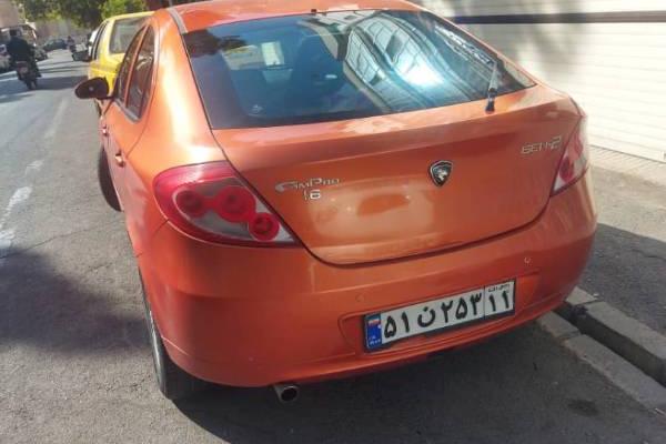 خرید خودرو پروتون ویرا اتوماتیک - 1387
