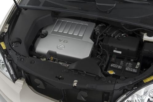 مشخصات فنی لکسوس RX - نسل دوم