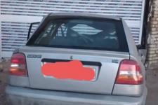 خرید خودرو پراید 141 دوگانه سوز - 1386