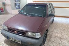 خرید خودرو پراید صندوق دار ساده بنزینی - 1384