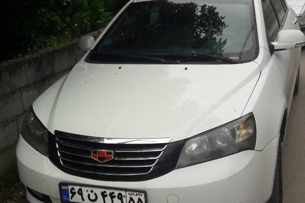 خرید خودرو جیلی امگرند 7 دنده ای - 2013
