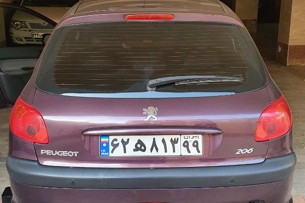 خرید خودرو پژو 206 تیپ 5 - 1395