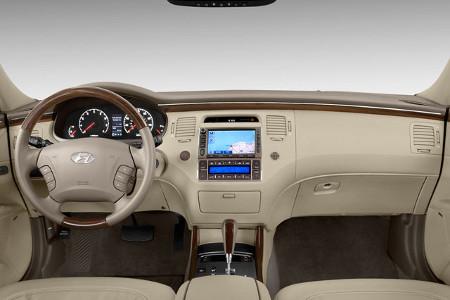 مشخصات فنی هیوندای آزرا - TG facelift